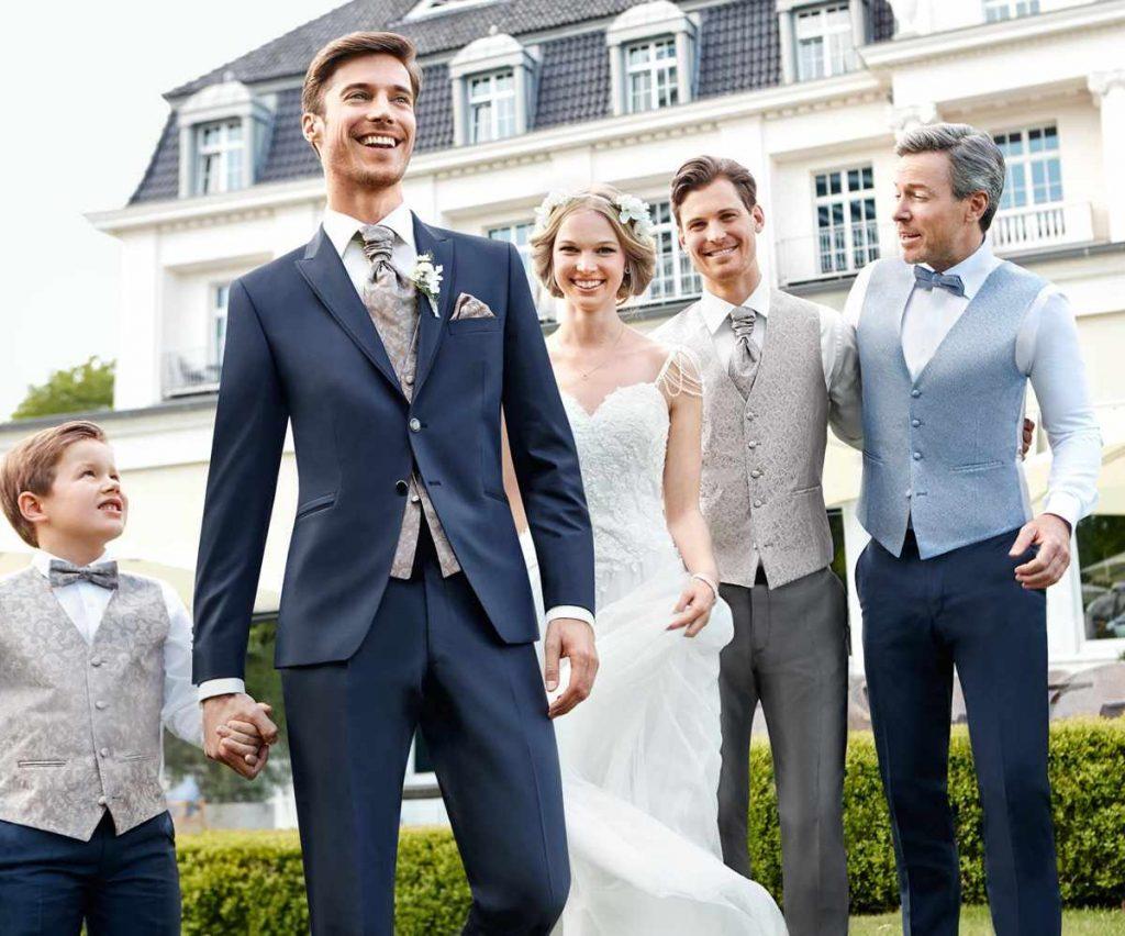 Hochzeitsanzug vom Mobilen Zeughaus